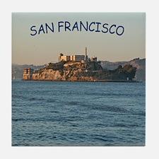 Alcatraz SF - Tile Coaster