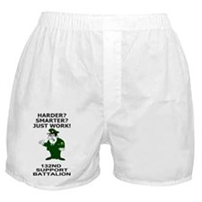 ARNG-132nd-Support-Bn-Just-Work-Poste Boxer Shorts