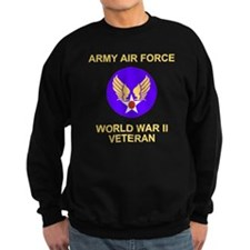 AAF-Veteran-Black Sweatshirt