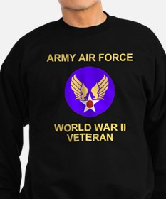AAF-Veteran-Black Sweatshirt (dark)