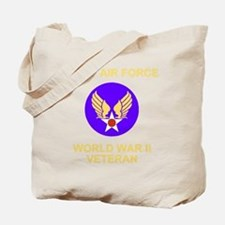 AAF-Veteran-Black Tote Bag