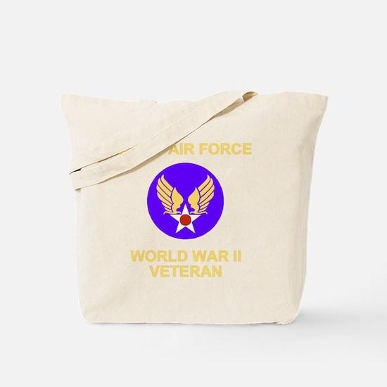 AAF-Veteran-Black Tote Bag