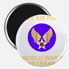 AAF-Veteran-Black Magnet