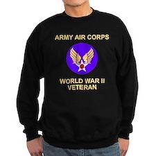 AAC-Veteran-Black Sweatshirt