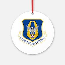 USAFR-Emblem Round Ornament
