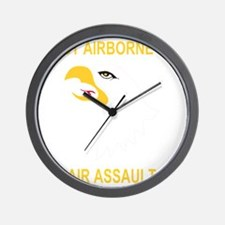 Army-101st-Airborne-Div Wall Clock