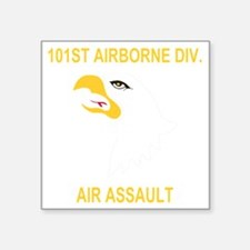 "Army-101st-Airborne-Div Square Sticker 3"" x 3"""