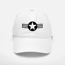 USAF-Roundel-Black.gif Baseball Baseball Cap