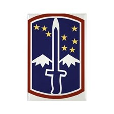 Army-172nd-Stryker-Bde-Black-Shir Rectangle Magnet