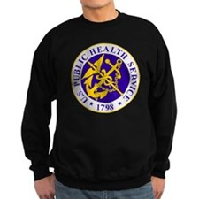 USPHS-Black-Shirt Sweatshirt