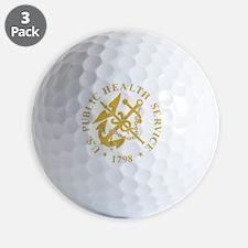USPHS-Black-Shirt-3 Golf Ball