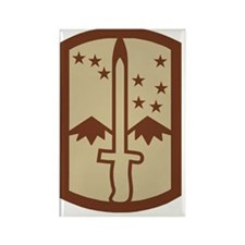 Army-172nd-Stryker-Bde-Patch-Dese Rectangle Magnet