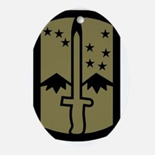 Army-172nd-Stryker-Bde-Patch-Subdued Oval Ornament