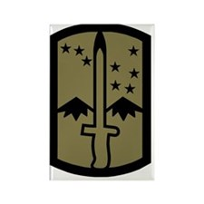 Army-172nd-Stryker-Bde-Patch-Subd Rectangle Magnet