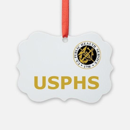 USPHS-Black-Shirt-2 Ornament