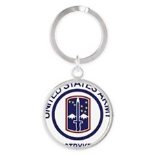 Army-172nd-Stryker-Bde-Shirt-5.gif Round Keychain