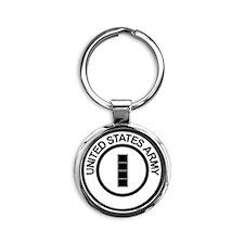 Army-CWO4-Ring.gif Round Keychain