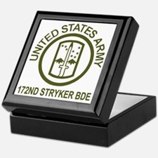 Army-172nd-Stryker-Bde-Avocado-Shirt. Keepsake Box