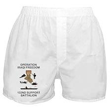 ARNG-132nd-Spt-Bn-Iraqi-Freedom-Shirt Boxer Shorts