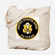 Army-Veteran-Black-Gold.gif Tote Bag