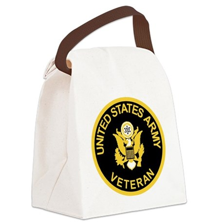 Army-Veteran-Black-Gold.gif Canvas Lunch Bag