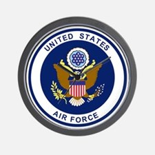 USAF-Patch-Blue.gif Wall Clock