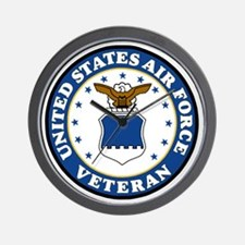 USAF-Veteran-Bonnie-3.gif Wall Clock