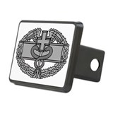 Combat medic badge logo Rectangle