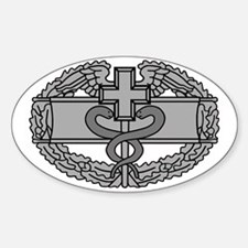 Army-Combat-Medical-Badge-Black-Shi Decal