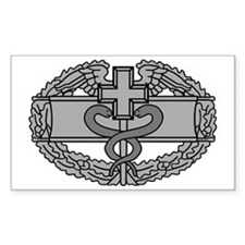 Army-Combat-Medical-Badge-Blac Decal