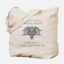ARNG-132nd-Support-Bn-Co-C-EFMB-Black-Shi Tote Bag