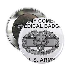 "Army-Combat-Medic-Shirt.gif 2.25"" Button"