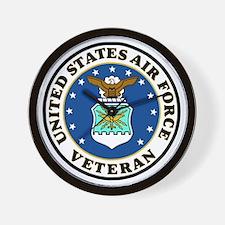 USAF-Veteran-Bonnie-2.gif Wall Clock