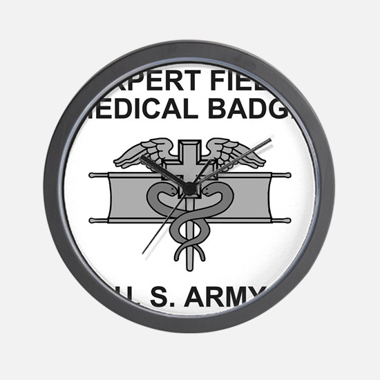 Army-Expert-Field-Medical-Badge-Shirt.g Wall Clock