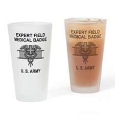 Army-Expert-Field-Medical-Badge-Shi Drinking Glass