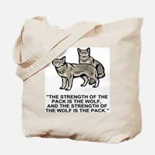 Army-172nd-Stryker-Bde-Arctic-Wolves-Shir Tote Bag