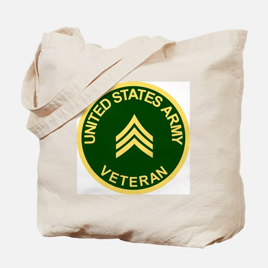 Army-Veteran-Sgt-Green.gif Tote Bag