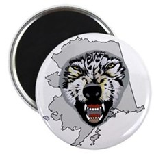 Army-172nd-Stryker-Bde-Arctic-Wolves-Postag Magnet