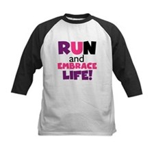 Embrace Life Purple Pink Tee