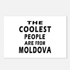 The Coolest Moldova Designs Postcards (Package of