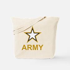 Army-Black-Shirt-3 Tote Bag