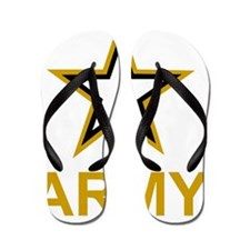 Army-Black-Shirt-3 Flip Flops
