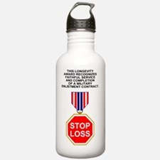 Bush-Stop-Loss-Poster. Water Bottle
