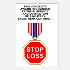 Bush-Stop-Loss-Poster.gif Postcards (Package of 8)