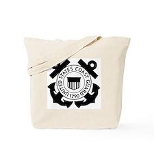 USCG-Logo-2-Black.g... Tote Bag