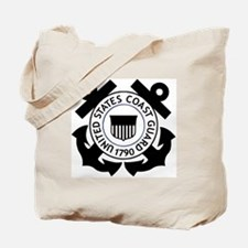 USCG-Logo-2-Black.g... Tote Bag