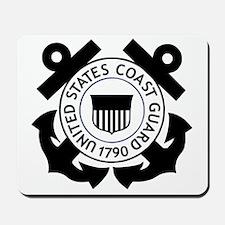 USCG-Logo-2-Black.g... Mousepad