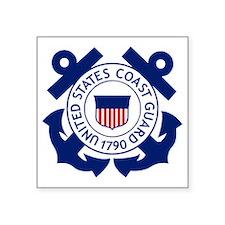 """USCG-Logo-2-Blue.gi... Square Sticker 3"""" x 3"""""""