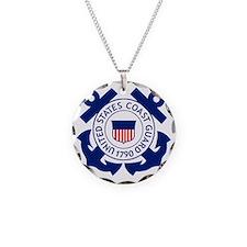USCG-Logo-2-Blue.gi... Necklace