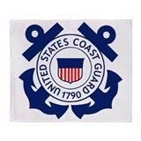 Coast guard Fleece Blankets